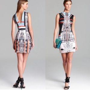 Clover Canyon Metropolis Kaleidoscopic Dress